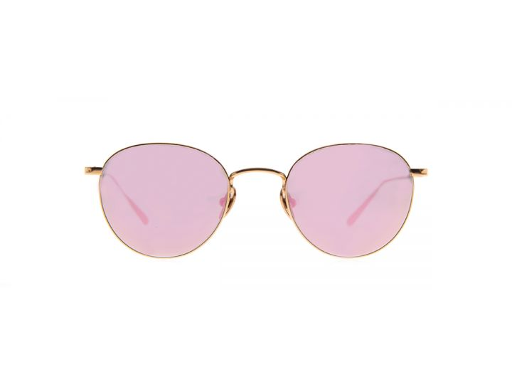 Jan Rose Gold / Rose Pink Mirror