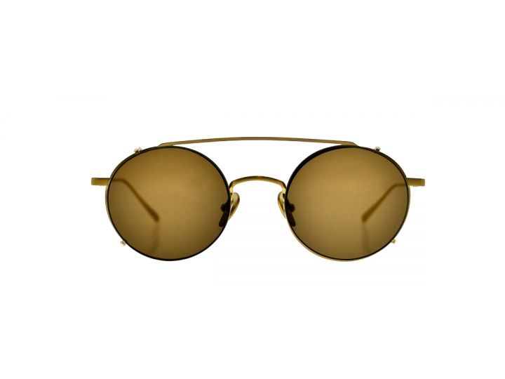 Willy Gold / Clip-on Brown